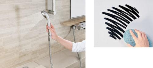 ホーロー浴室パネルはお掃除の手間いらず